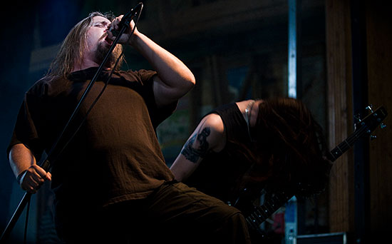 Dismember, still going strong, Live at Gates of Metal 2006 - Photo Daniel Falk